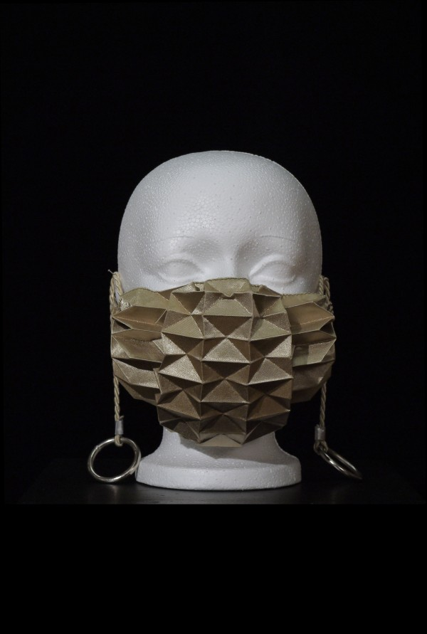 Pleated Masks by Stacie Vos